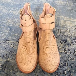 Tan colored Booties